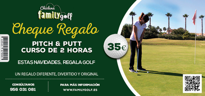 Cheque regalo Pitch & Putt Family Golf Park Chiclana