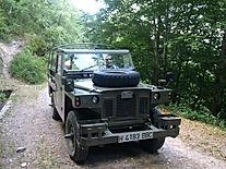Land Rover Santana historico