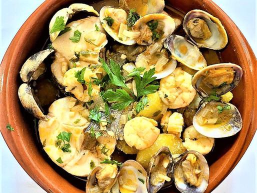 Cazuelina de Merluza a la Asturiana