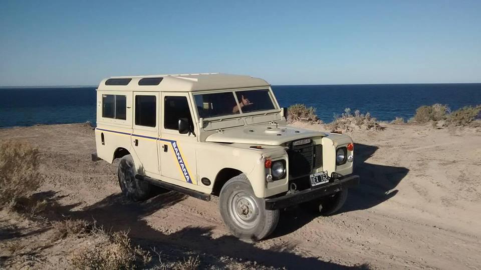bienvenidos a land rover santana