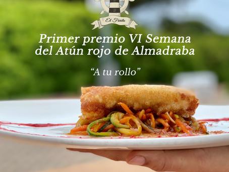 """EL RESTAURANTE """"EL FARITO"""" HA GANADO EL PRIMER PREMIO DE LA """"VI SEMANA DEL ATÚN ROJO DE ALMADRABA"""""""