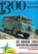 Folleto Land Rover Santana1300