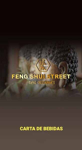 Carta de vinos Feng Shui Street