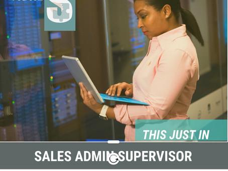 Sales Administration Supervisor