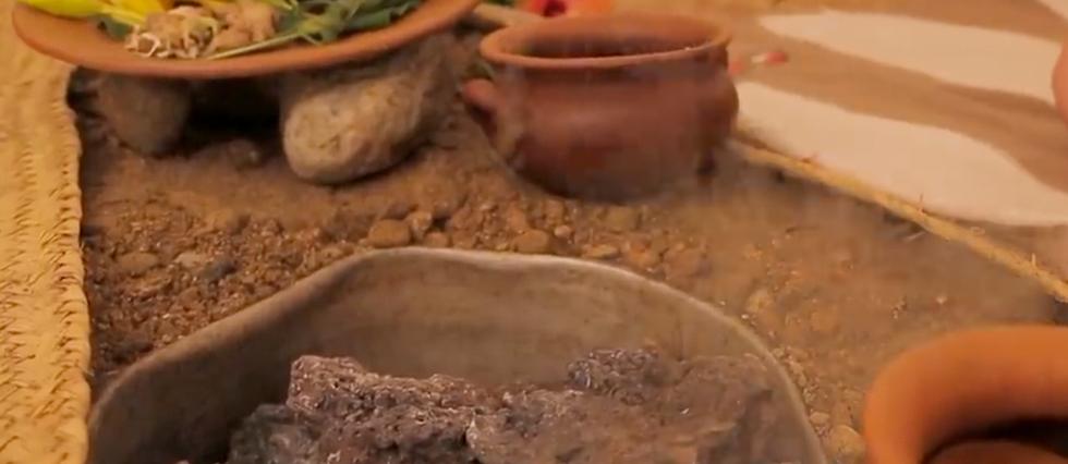 El temazcal es un baño de vapor prehispánico hecho con una infusión de hierbas que recolectamos en nuestra montaña.