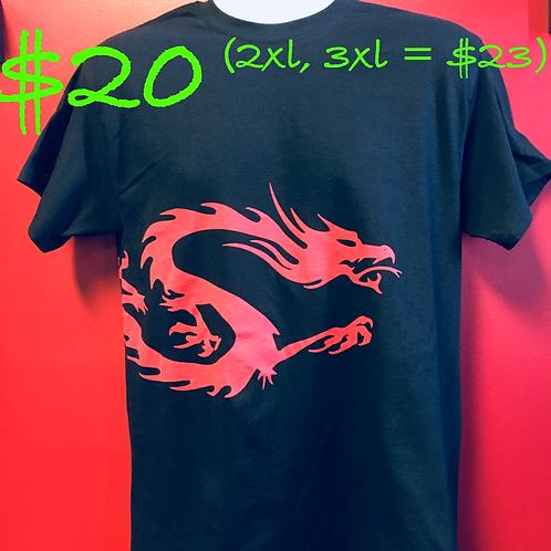 Red Dragon Mens T-shirt