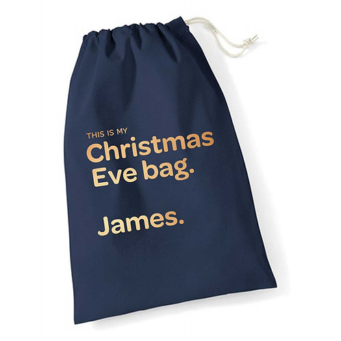 This is My Christmas Eve Bag
