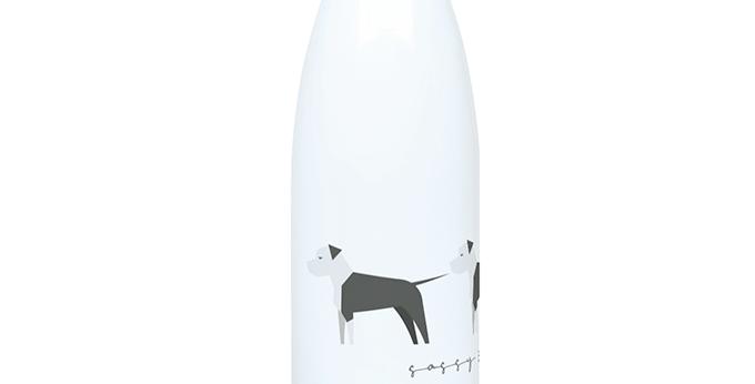 Trio Steel Water Bottle - Sassy Staffies