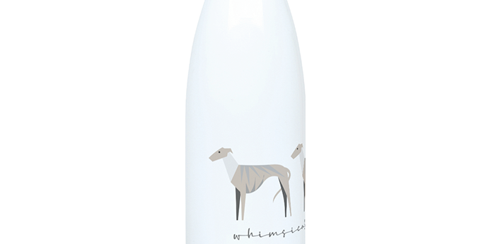 Trio Steel Water Bottle - Whimsical Whippets