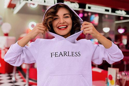 Fearless Slogan Hoodie