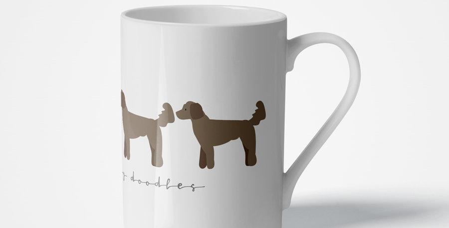 Trio Porcelain Mug - Dandy Doodles