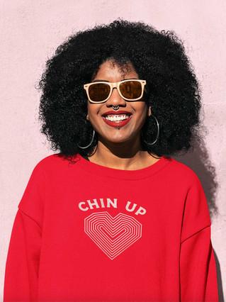 Chin Up Sweatshirt
