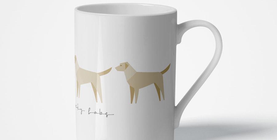 Trio Porcelain Mug - Lucky Labs