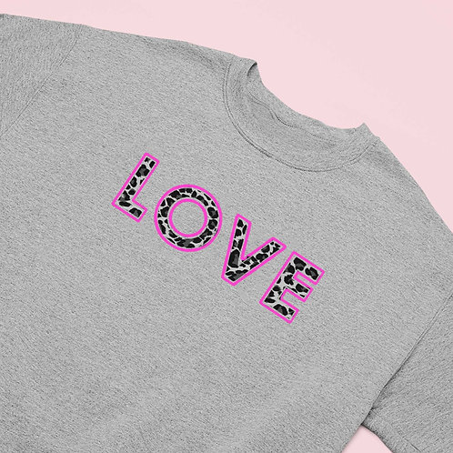 Leopard LOVE Sweatshirt