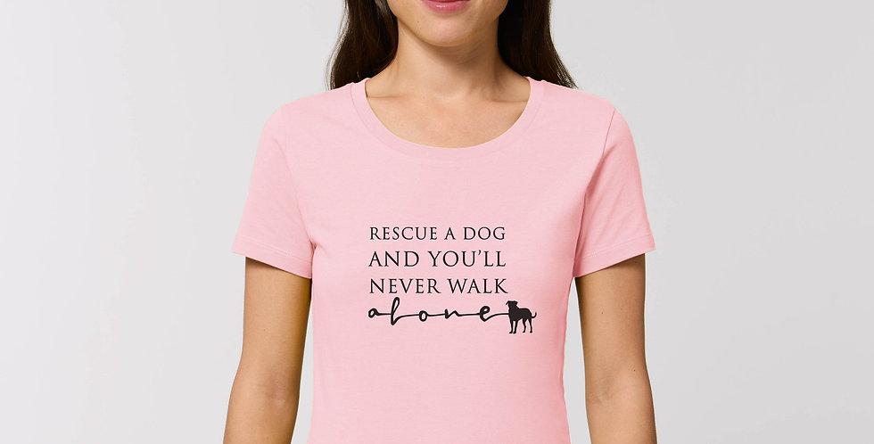Rescue Dog Womens T-Shirt