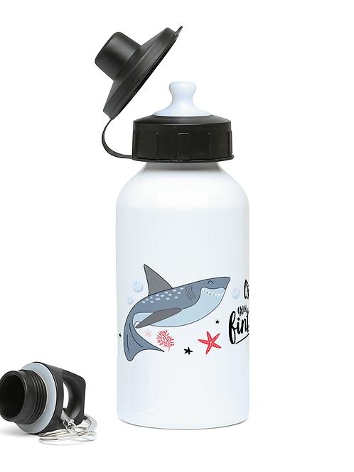 Fintastic Shark Personalised Drinks bottle