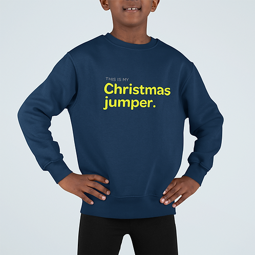 Boys This is my Christmas Jumper