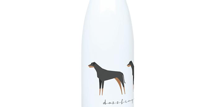 Trio Steel Water Bottle - Dazzling Dobermans