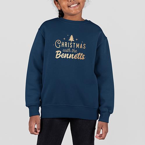 Kids Family Christmas Sweatshirt