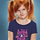 Thumbnail: Girls Neon Wild & Free T-shirt