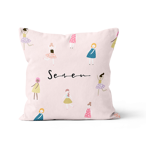 Funtastic Girls cushion