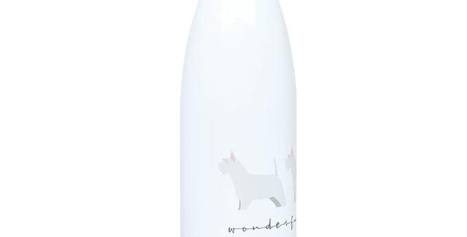 Trio Steel Water Bottle - Wonderful Westies