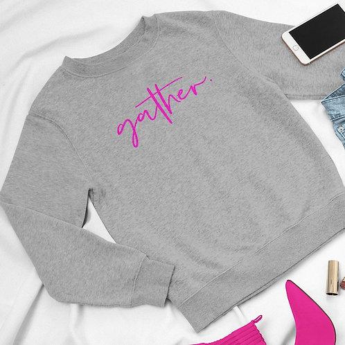 Gather Script Sweatshirt - Customise Me!