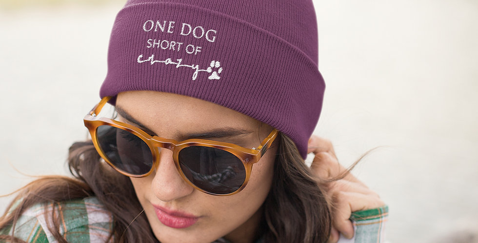 Dog Crazy Beanie Hat