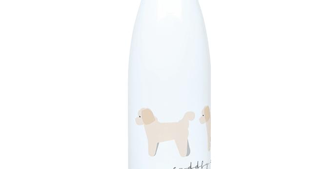 Trio Steel Water Bottle - Cuddly Cavachons