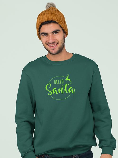 Men's Hello Santa Sweatshirt