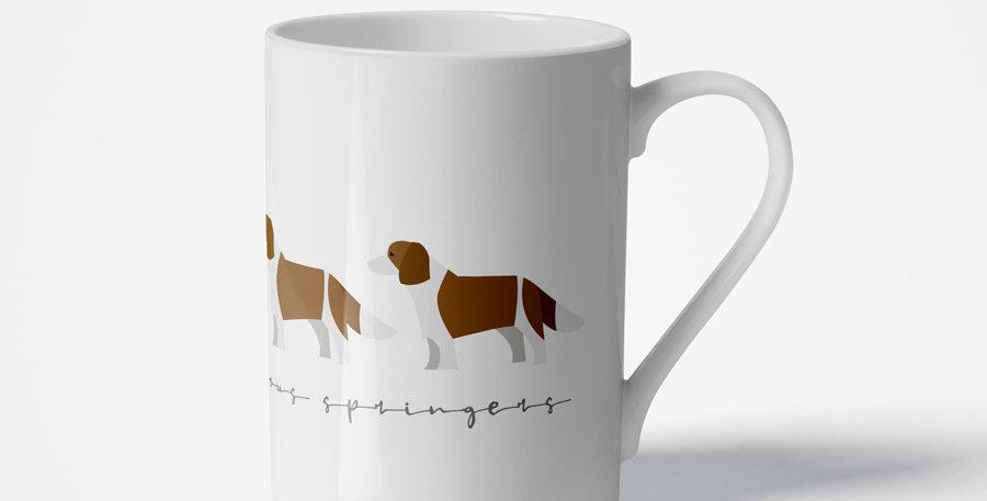Trio Porcelain Mug - Scrumptious Springers