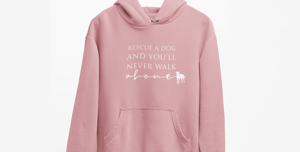 Rescue Dog Womens Hoody