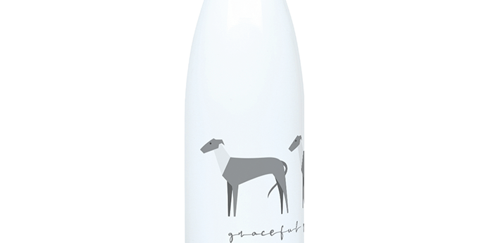 Trio Steel Water Bottle - Graceful Greyhounds