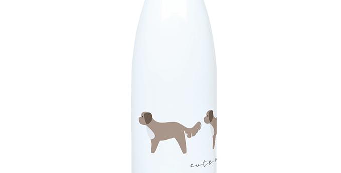Trio Steel Water Bottle - Cute Cavapoos