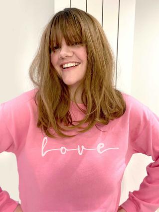 Love Script Sweatshirt