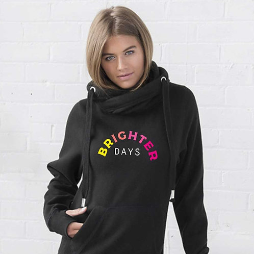 Brighter Days Cowl Neck Hoodie