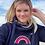 Thumbnail: Sunrise Rainbow Cowl Neck Hoodie - Customise Me!