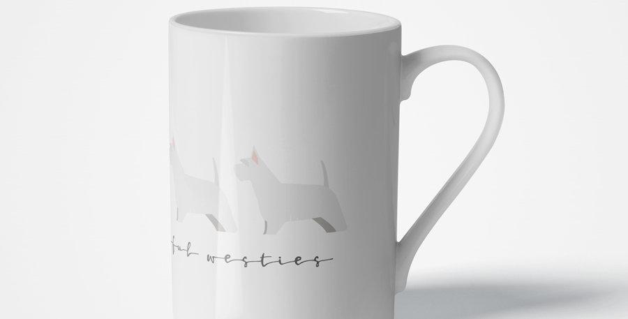 Trio Porcelain Mug - Wonderful Westies