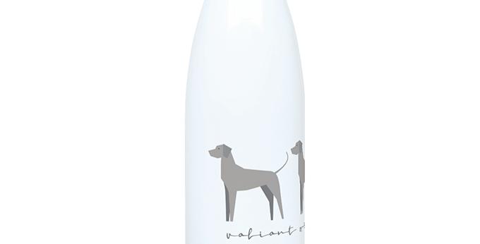 Trio Steel Water Bottle - Valiant Weimaraners