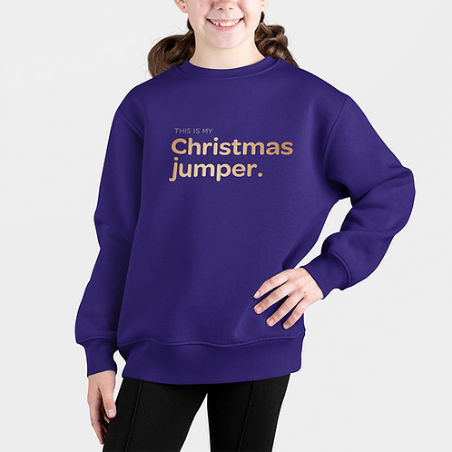 Girls This is my Christmas Jumper