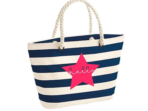 Hello Star Beach Bag