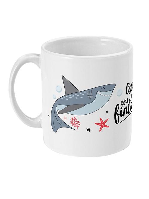 Fintastic Shark Personalised Mug for Boys