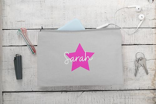 Star Name Accessory Bag