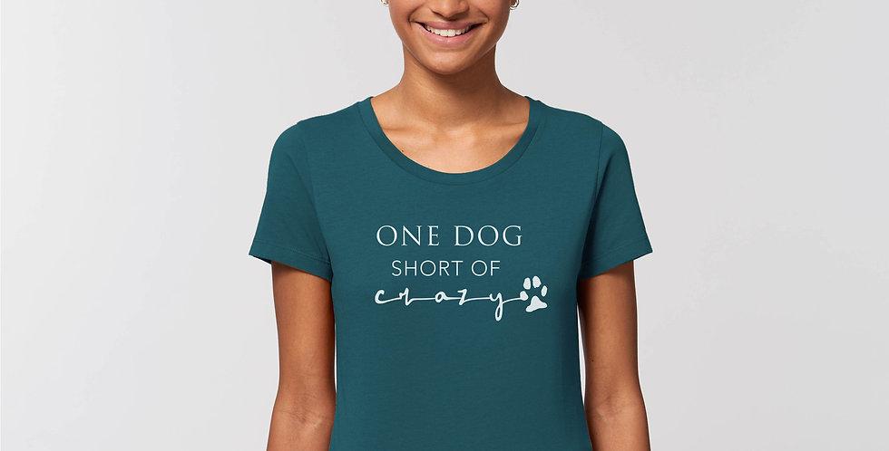 Dog Crazy Womens T-Shirt