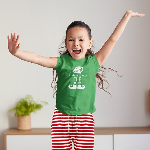 Kids Christmas Elf PJs