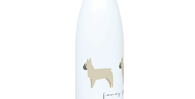 Trio Steel Water Bottle - Fancy Frenchies