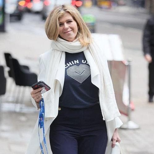 Chin Up T-shirt - as seen on Kate Garraway