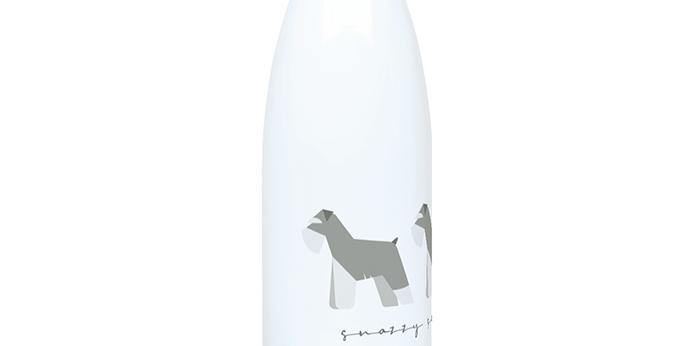 Trio Steel Water Bottle - Snazzy Schnauzers