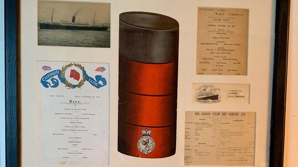 Cunard Steamship.