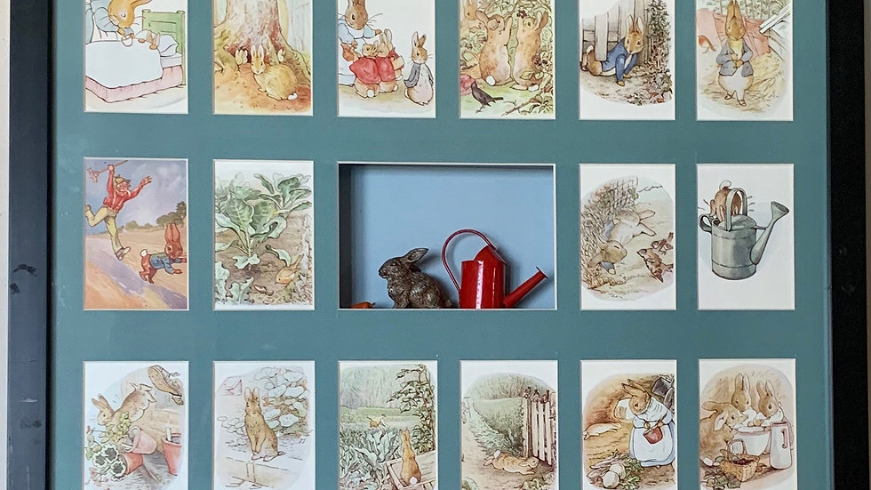 Peter Rabbit Collage.